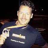 Ironman med medaljen